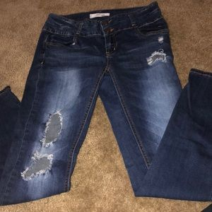 Refuge dark wash jeans